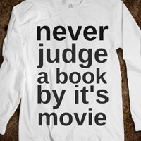 Never Judge  - Nina's Shop - Skreened T-shirts, Organic Shirts, Hoodies, Kids Tees, Baby One-Pieces and Tote Bags