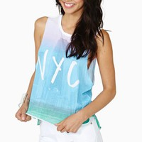 NYC Skyline Muscle Tee