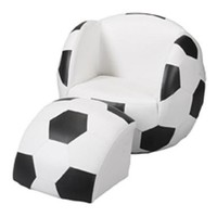 Gift Mark Chair and Ottoman, Soccer:Amazon:Home & Kitchen