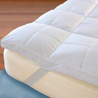 The Temperature Regulating Mattress Topper - Hammacher Schlemmer