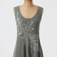 Glittering Plume Tank-Anthropologie.com