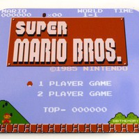 NES Mouse Pad Super Mario Bros by 8BitMemory on Etsy