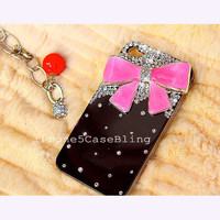 iPhone 4 Case, iPhone 4s case, iPhone 5 Case, Bling iPhone 4 case, iPhone 5 bling case, Cute iPhone 4 case, iPhone 5 case bow, iphone5 case