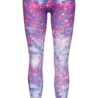 Galactic Tribal Printed Seamless Legging