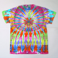 Crazy Spider Tie Dye Shirt