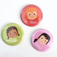 Olliegraphic - pocket mirror (girl)