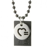 HRC Love Pride Pendant - HRC Love Pride Necklace