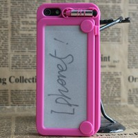ABIGALE — Magnetic Drawing Case For iPhone 4 / 4S / 5