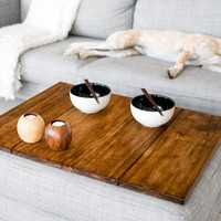 Tabletop for pouffe / ottoman or footstool