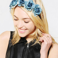 Urban Outfitters - Oversized Ombre Flower Crown Headwrap