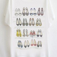 Shoe Rack Print T-shirt