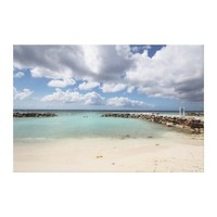 Beach on De Palm Island - Aruba Gallery Wrapped Canvas from Zazzle.com