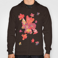 Flowering to Bloom Hoody by Ben Geiger