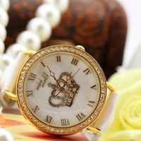 Dignity Crown Diamond-studded Watch