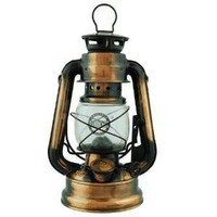 Hurricane Lantern 7.5-inch (Uses Lamp Oil or Kerosene): Sports & Outdoors