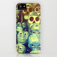skulls iPhone & iPod Case by Marianna Tankelevich