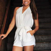 Marilyn Monroe Romper:White | Hope's
