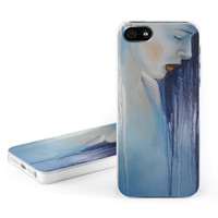 Apple iPhone 5 Hard Case - Blue Mood by Nicole Tamarin