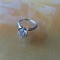 Have You Seen the Ring?: 1.5ct Round EGL Diamond Engagement Ring