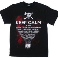 Amazon.com: Keep Calm - Walking Dead T-shirt: Clothing