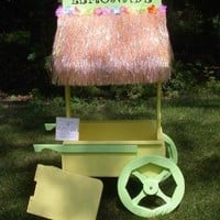 Custom Kids Lemonade Stand Play Pretend by CarrieMarieOriginals