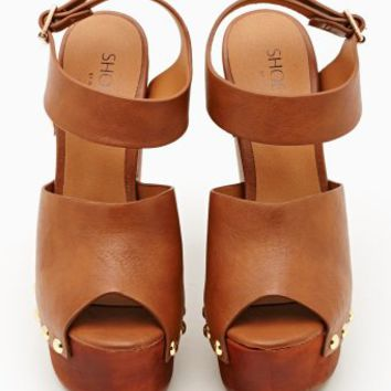 Summer Behavior Wedge - Tan