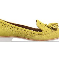 Dolce Vita Macao in Acid Yellow Suede at Solestruck.com