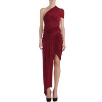 Carven One Shoulder Dress Sale up to 70% off at Barneyswarehouse.com