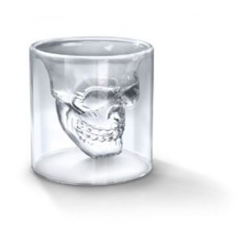 FRED DOOMED Crystal Skull Shotglass