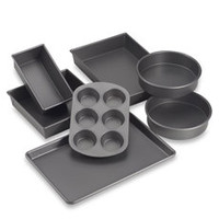 Chicago Metallic Professional Non-Stick 7-Piece Metal Bakeware Set