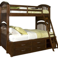 Paliser Twin over Full Bunk Bed