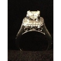 Have You Seen the Ring?: 1.58tcw Princess Cut Engagement Ring