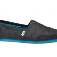 Black Denim Pop Men's Classics | TOMS.com