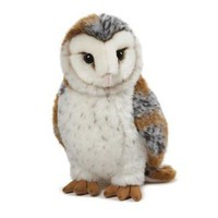"Amazon.com: Webkinz Signature Barn Owl 10.5"" Plush: Toys & Games"