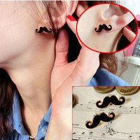 Cute Mustache Earrings