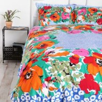 Floral Dot Scarf Duvet Cover