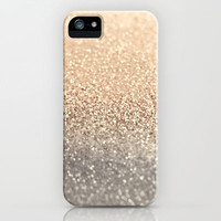 *** GLITTER GATSBY GOLD *** iPhone & iPod Case by M✿nika  Strigel for iPhone + iPod touch + iPad Case 5 + 4 + 4s + 3g +3gs + more!