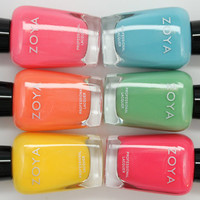 Zoya Nail Lacquer STUNNING 2013 Collection 6pcs