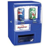 110V 10-Can Vending Fridge (Blue):Amazon:Appliances