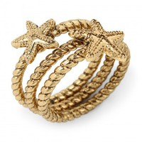 C. Wonder | Starfish Ring Set