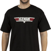 Call Name Iceman Top Gun T-Shirt
