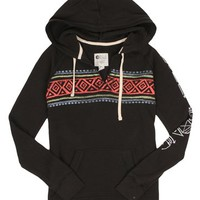 Billabong Right Places Hoodie - Off Black Heather 2 - J6123RIG				 |  			Billabong 					US