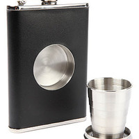 Stone Cask Accessory Shot Flask in Black