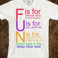 F.U.N. Song - What I Learned in Boating School Is - Skreened T-shirts, Organic Shirts, Hoodies, Kids Tees, Baby One-Pieces and Tote Bags