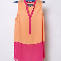 Colorblocked Brookline Blouse