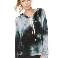 Brandy ♥ Melville |  Bettina Tie-Dye Hoodie - Tops - Clothing