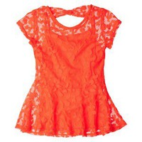 Circo® Girls' Blouse -  Coral S