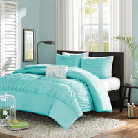 Walmart: Home Essence Apartment Haley Duvet Cover Set
