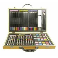 Wooden Art & Craft 82 Pc.drawing Set