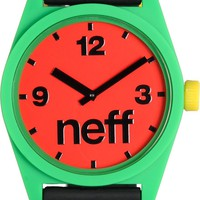 Neff Daily Rasta Corpo Analog Watch